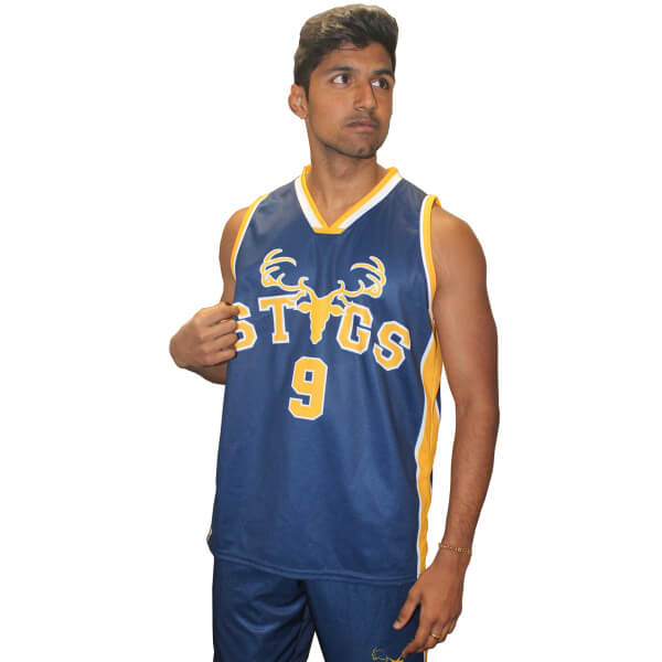 Basketball Jersey - Lincoln Student Accommodation Adelaide
