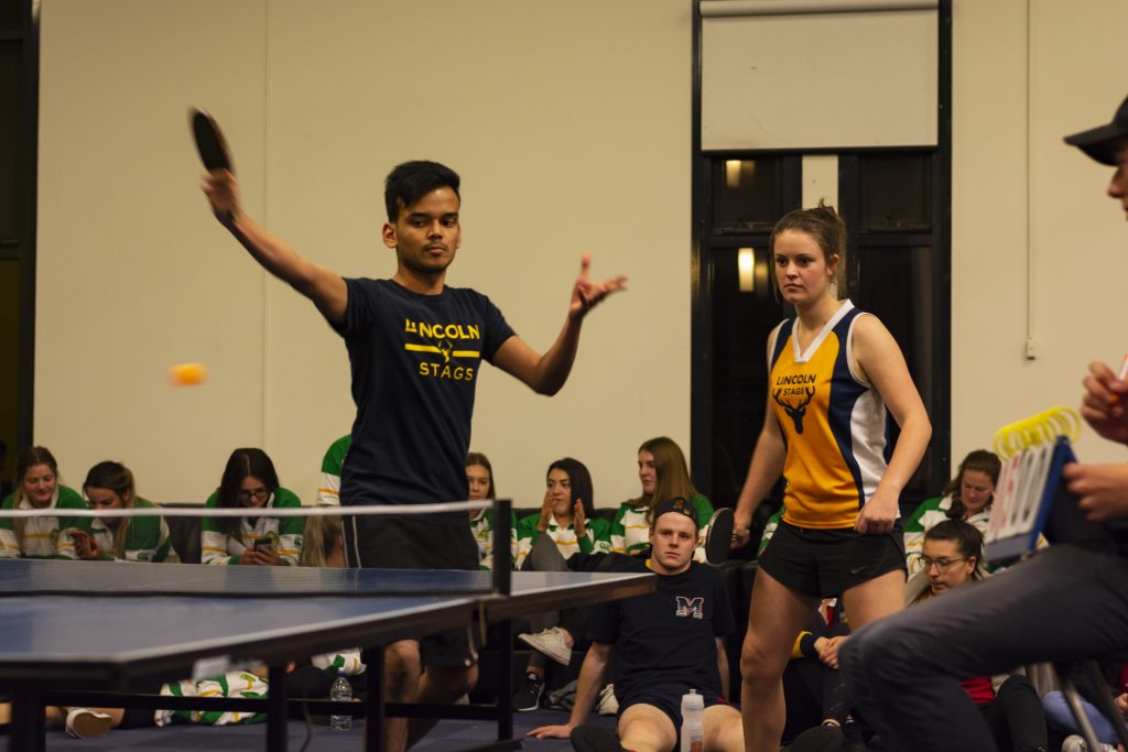 SAAUCC Table Tennis