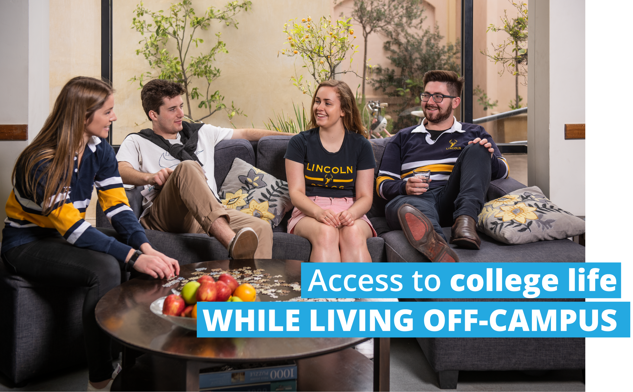 Access to college life WHILE LIVING OFF-CAMPUS